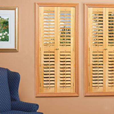 wood shutters - plantation shutters - the home depot OCDVFOK