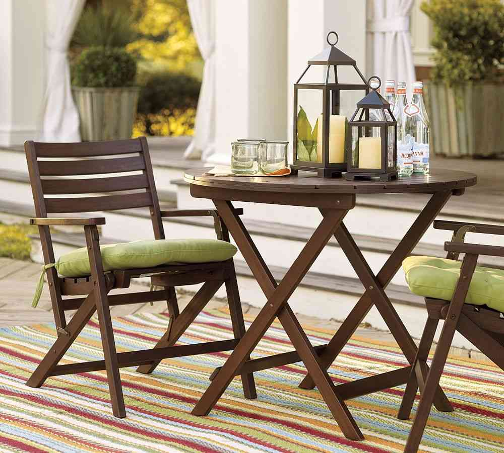 wood small patio furniture sets KRJKBHY