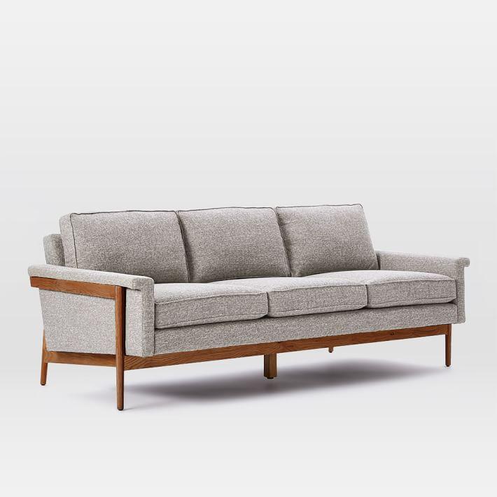 wood sofa leon wood frame sofa (82 LLIULQZ