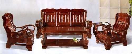 wood sofa pure teak wood stylish sofa set AMXJRSF