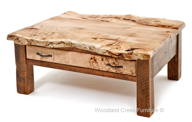 wooden coffee tables rustic wood coffee table barn wood coffee table with burl wood reclaimed AWODIRE