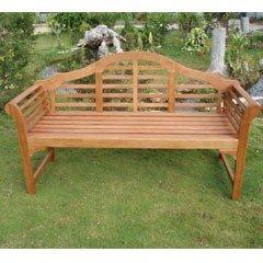 wooden garden benches greenfingers lutyens 3 seater bench QOYZTME