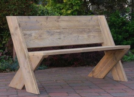 wooden garden benches here are a couple of diy benches that would provide casual and attractive KWDLUZK
