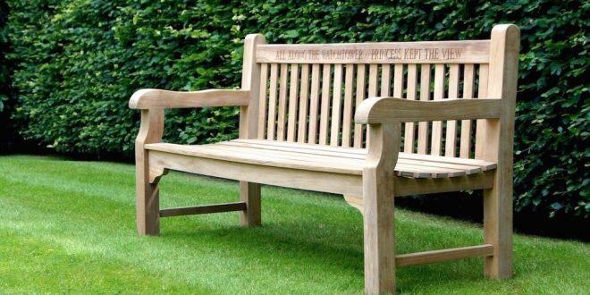 wooden garden benches memorial wooden garden bench WANLDBF