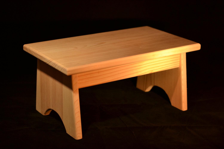 wooden step stool 🔎zoom XFTSVWO