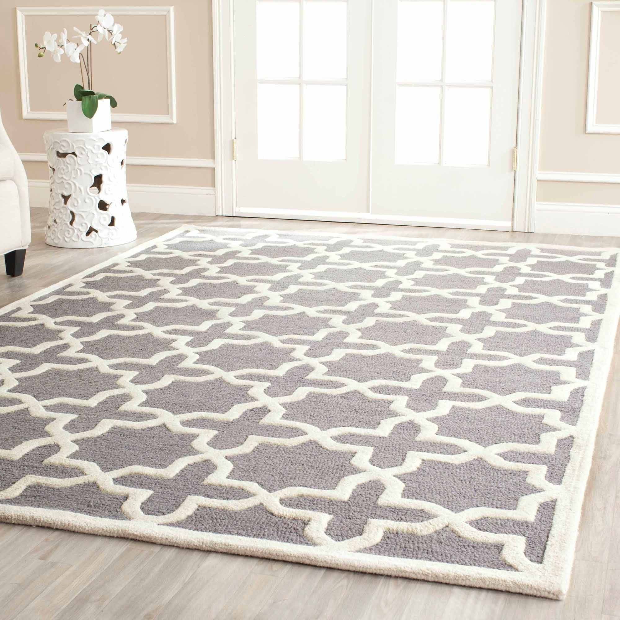 wool area rugs safavieh cambridge liz hand tufted wool area rug or runner DWWFQDB