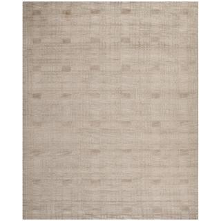 wool rugs safavieh hand-knotted tibetan geometric slate wool rug (8u0027 x ... VCKNRJL