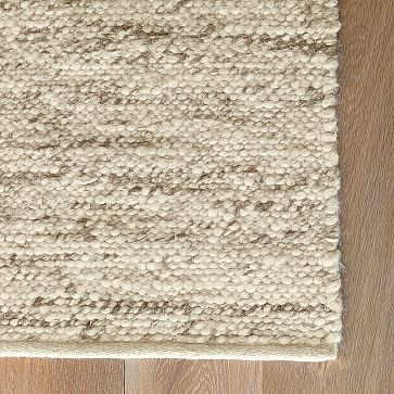 wool rugs sweater wool rug - oatmeal | west elm WRYJCGF