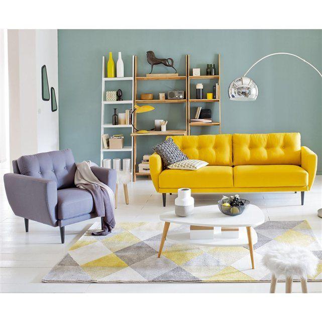 yellow sofa lampe à poser métal vintage, rosella UYKGVRO