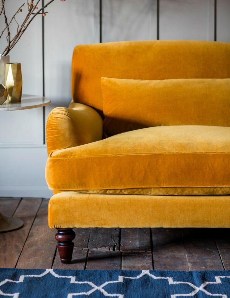 yellow sofa mabel sofa - available in 17 colours and 2 sizes AUIVJEB