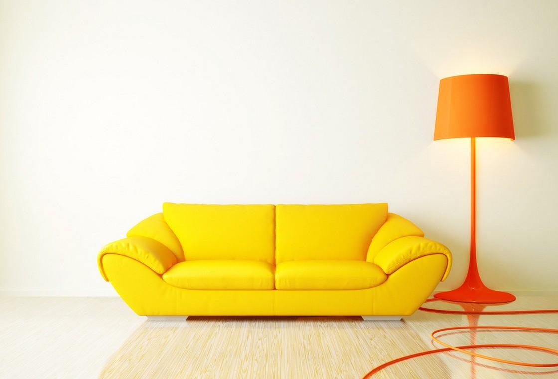 yellow sofa the unique yellow piece QURZFCC
