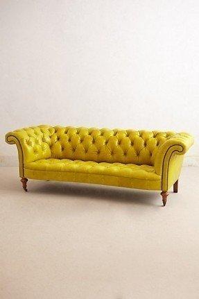 yellow sofa yellow tufted sofa foter ZGGMWQQ
