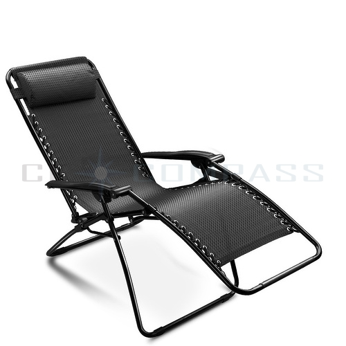 Reclining Garden Chairs attractive reclining lounge chairs patio folding zero gravity chair  recliner outdoor beach DSULSBK