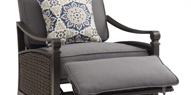 Reclining Garden Chairs carson chestnut and espresso all-weather wicker outdoor reclining ... MIIKJAL