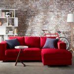 The Amazing Red Sofa