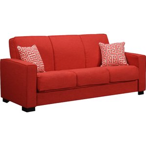 Red Sofa swiger convertible sleeper sofa AEWPSYQ