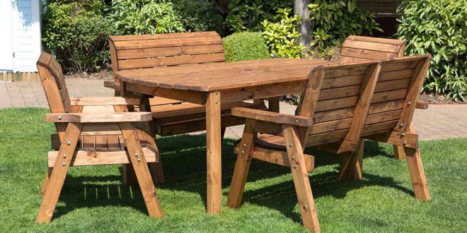Wooden Garden Furniture compact wooden garden furniture charles taylor trading GCDSUEW