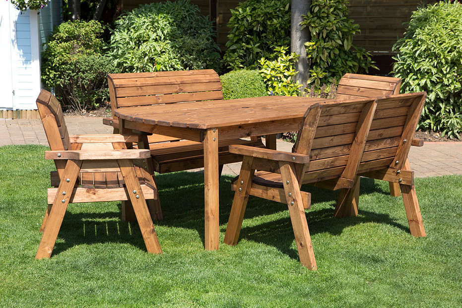 Wooden Garden Furniture compact wooden garden furniture charles taylor trading GCDSUEW