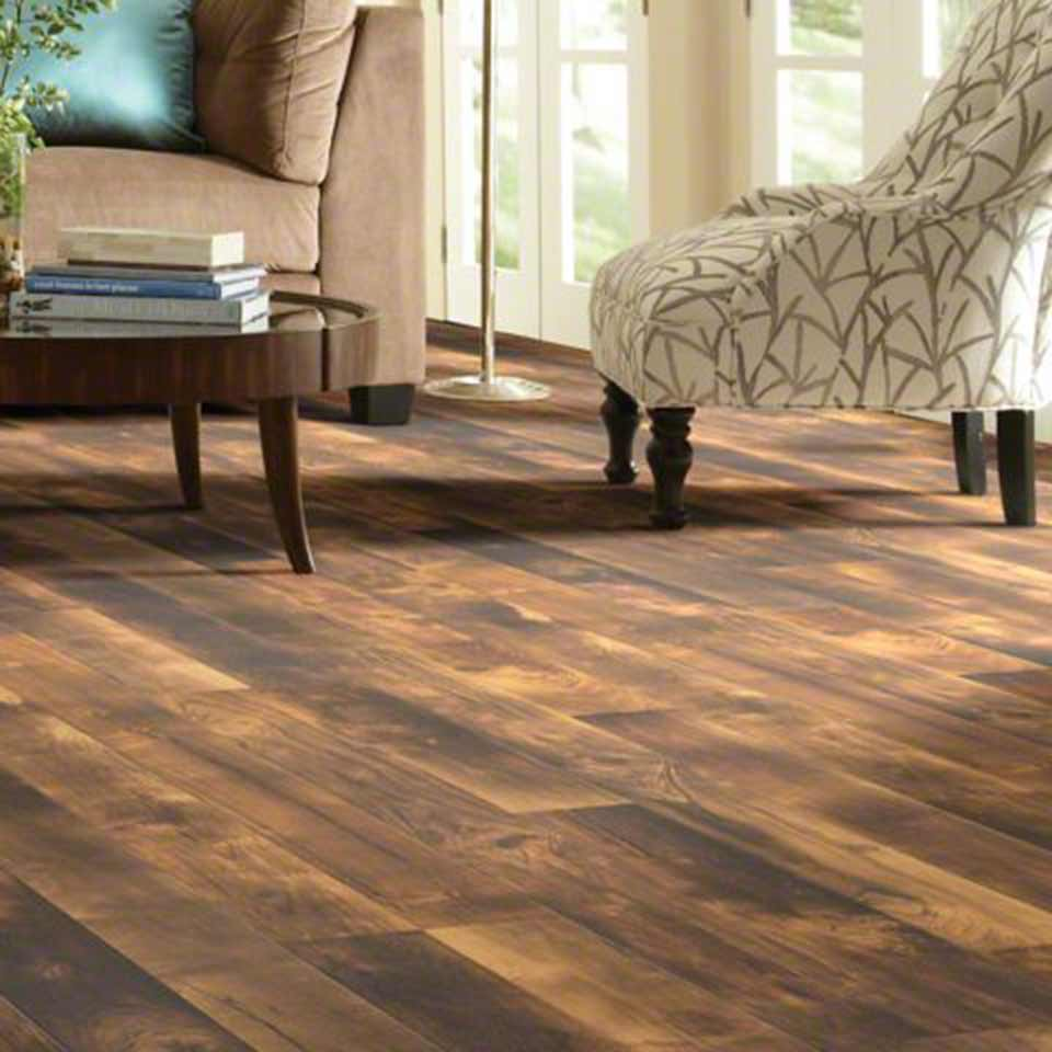 ... image of shaw laminate flooring in living area ... VMTIDSL