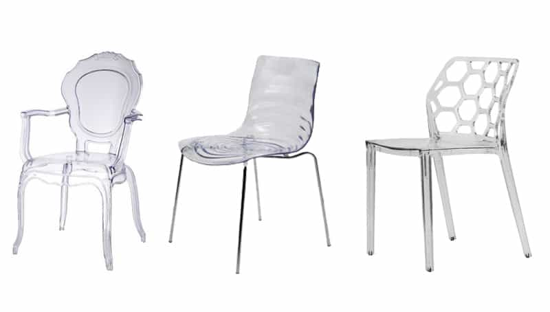 15 modern dining ghost chairs that you can buy right now! EVXSLIV