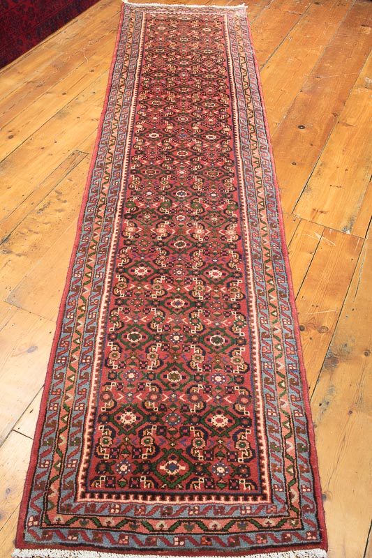 8482 persian hosseinabad carpet runner rug 73x302cm STKXHJZ