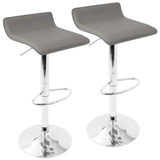 adjustable bar stools clay alder home tower contemporary ale adjustable barstools (set of 2) TMNVVHM