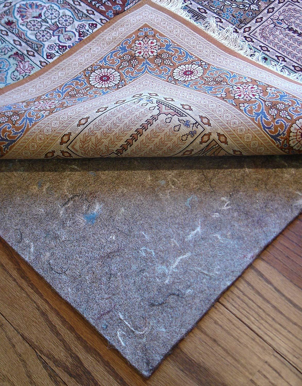 amazon.com: 10u0027x13u0027 rug pads for less super premium (tm) 100% dense felt PFUGVTC