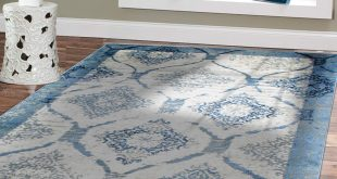 amazon.com: contemporary rugs for living room 5x8 blue area rug modern rugs PXVSWOZ