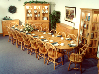 Amish furniture the finest handcrafted oak and cherry amish furniture available worldwide. LUEFGLE