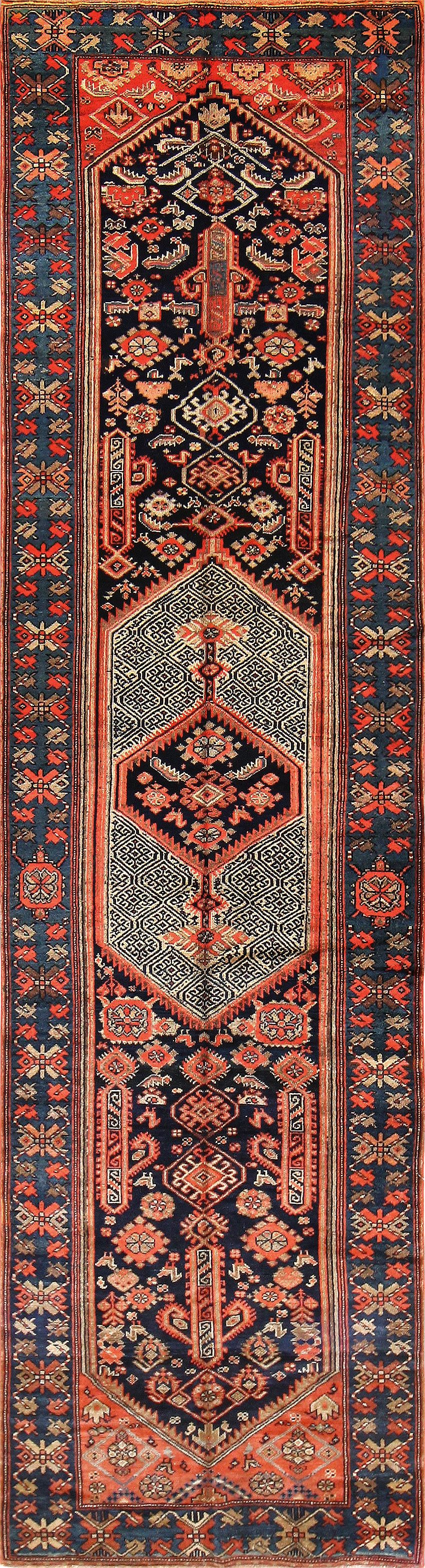 antique persian malayer runner rug 50352 nazmiyal DWHHJUL