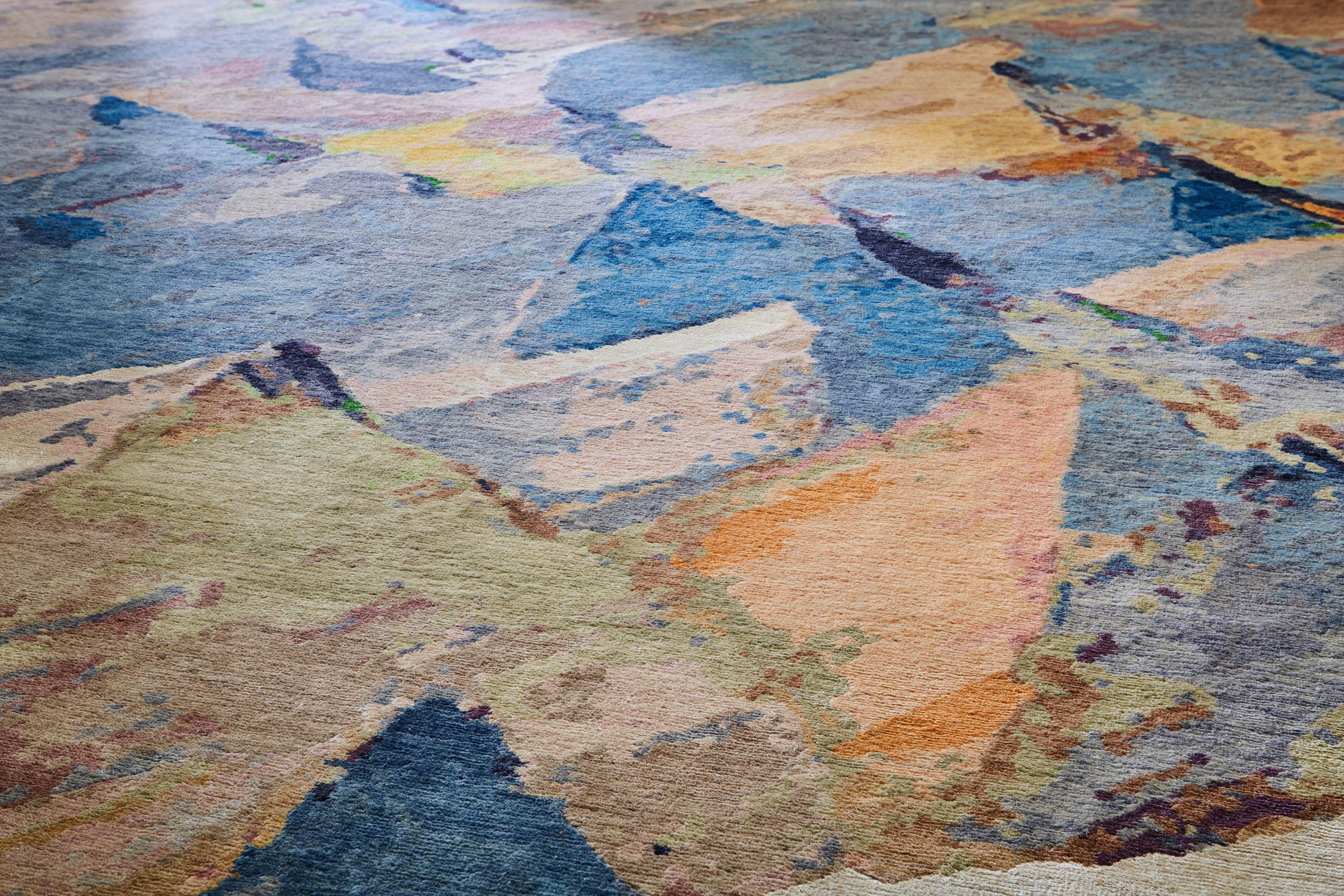 artistic rug detail. PPLGRTT