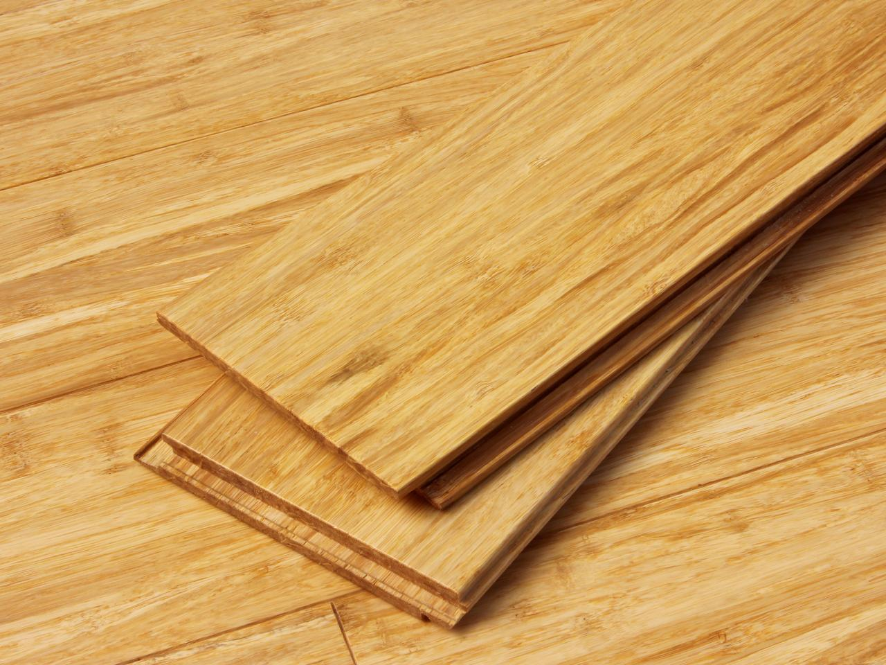 bamboo floor tiles how to install two-tone bamboo flooring ROJZMZR