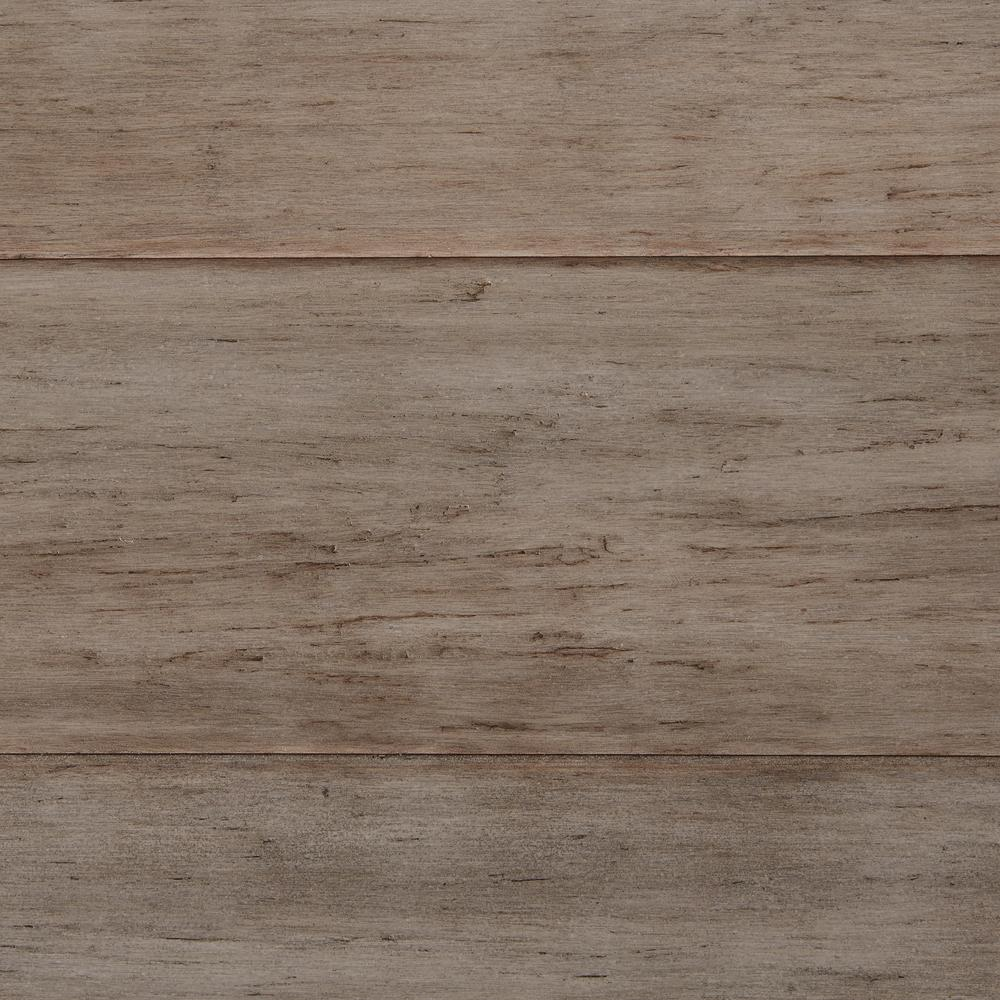 bamboo flooring home decorators collection hand scraped strand woven earl grey 1/2 in. t x ZDSJXQD