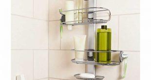 bathroom caddies simplehuman adjustable stainless steel shower caddy organizer IIMXPXU