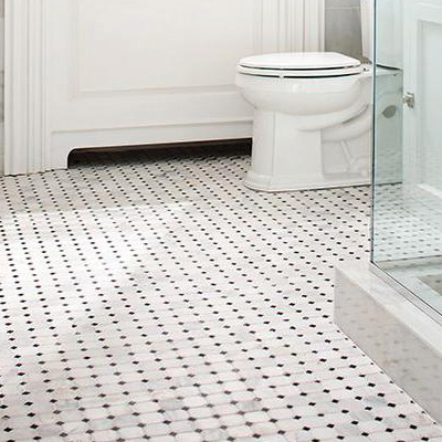 Bathroom flooring mosaic MGOVVIQ