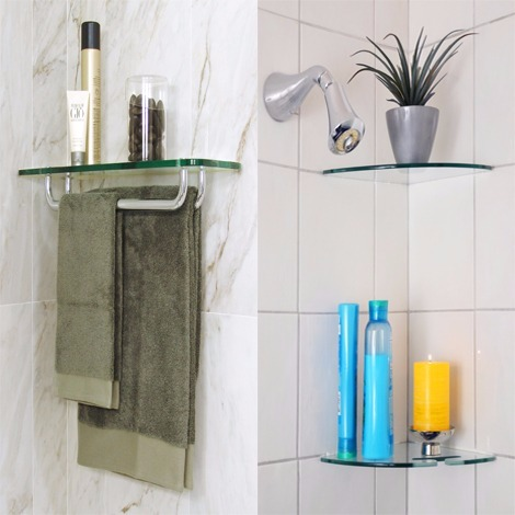 Bathroom Glass Shelves glass bathroom shelves | floating shelves for bathroom corners | bathroom  glass GIXCAMT