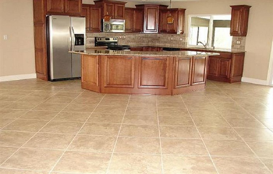 best floor tile ideas kitchen ... TNLFFBE