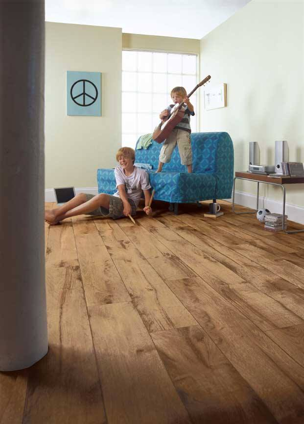 best flooring options a room with high traffic in the home such as hallways, living rooms QPYMXGI