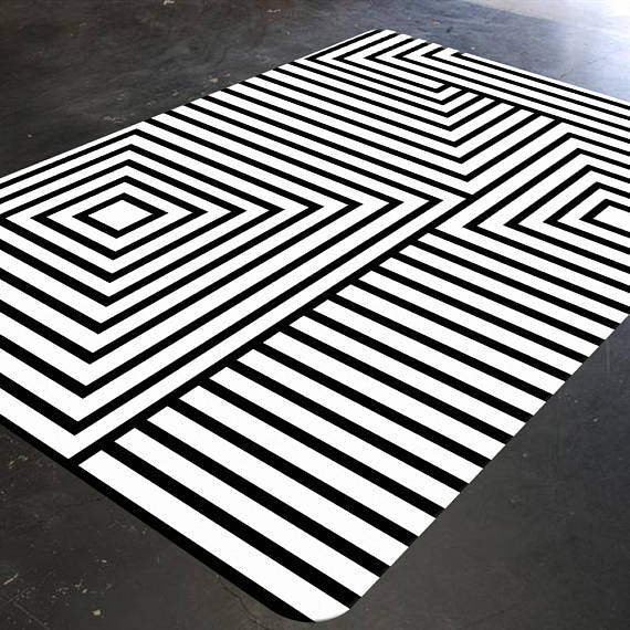 black and white rugs black and white rug geometric rug mid century modern rug BBPFJKZ