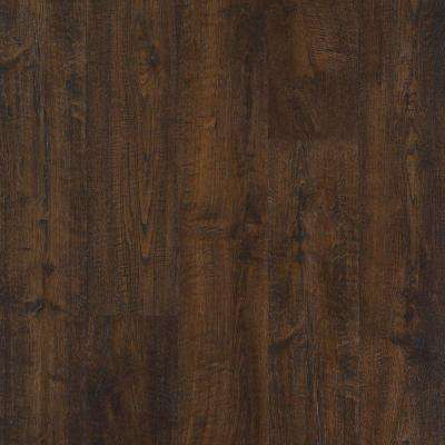 black laminate flooring outlast+ java scraped oak 10 mm thick x 6-1/8 in. wide VYFDFOA