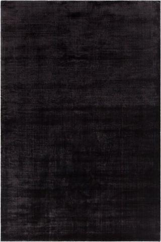 Black rugs alta rug in black - yarn and loom rugs RTBWHHY