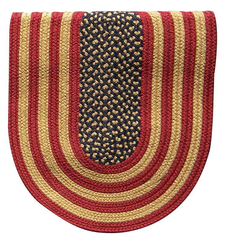 braided rug designs braided rug colonial rustic american flag DRFWAVA