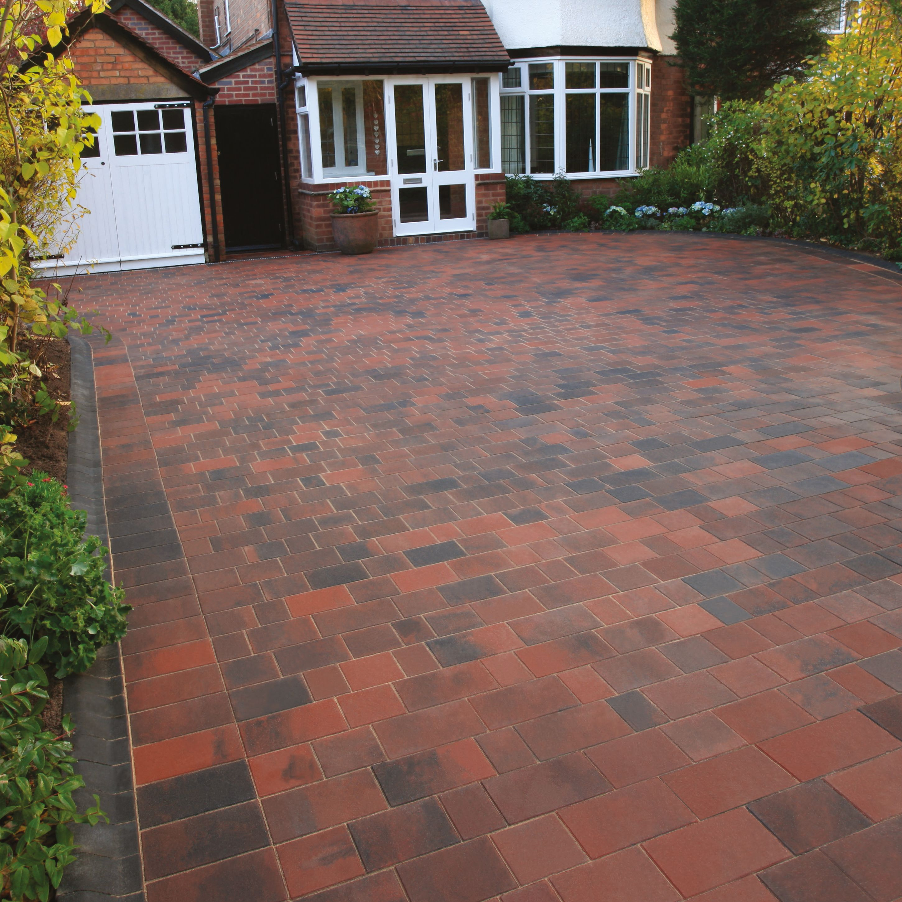 brindle driveflair mixed size block paving, pack of 352, 9.6 m² | PKWKIDL