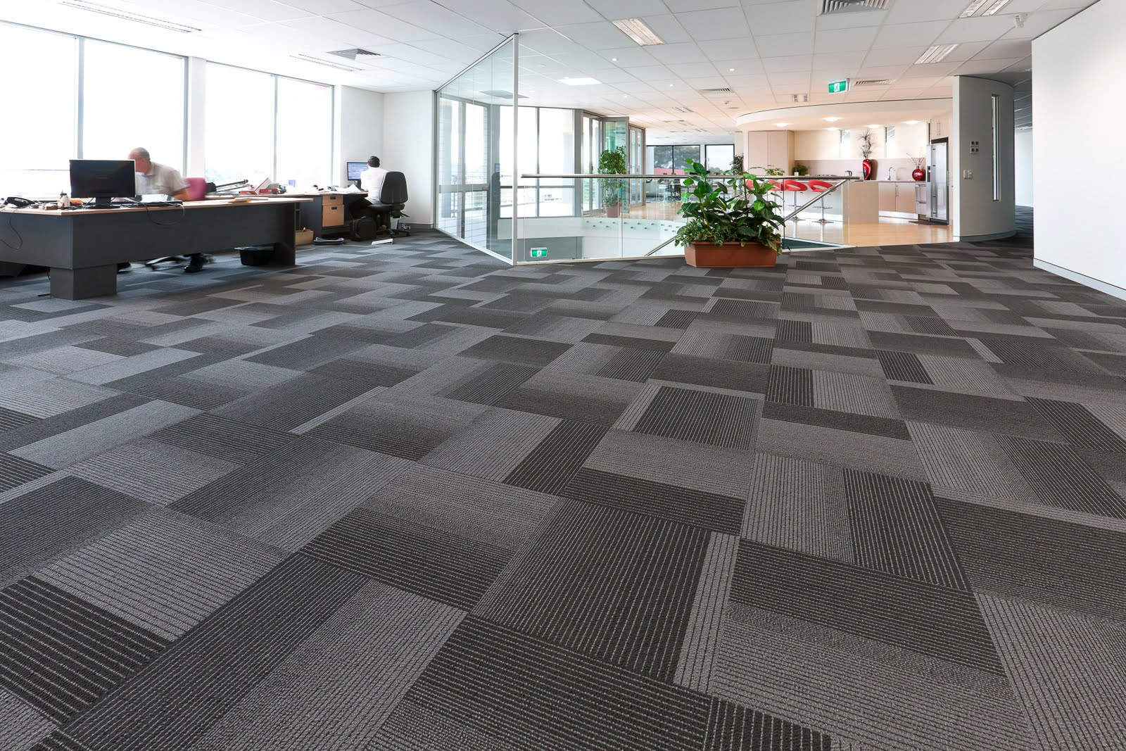 Carpet design ideas wide office space with dark grey and silver wall to wall carpet design CSAMYXV
