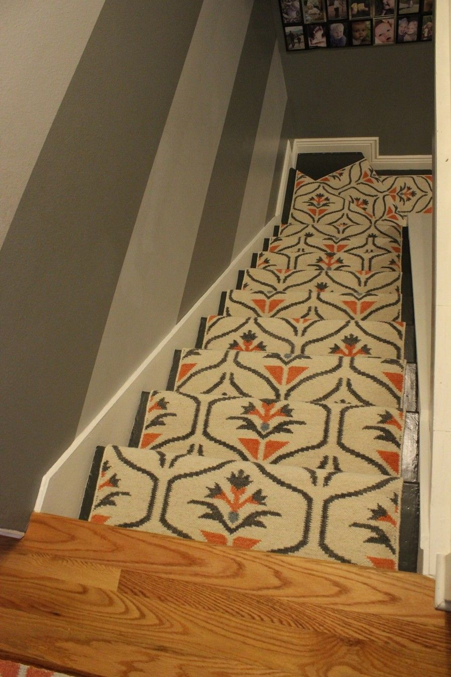 carpet runner on carpet update your staircase: how to remove and install carpet on the stairs PNQMEJL