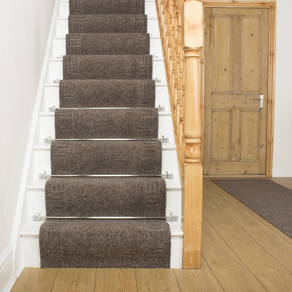 carpet runners mega brown stair carpet runner stair runner - free delivery plus a u0027no WTEVRFD