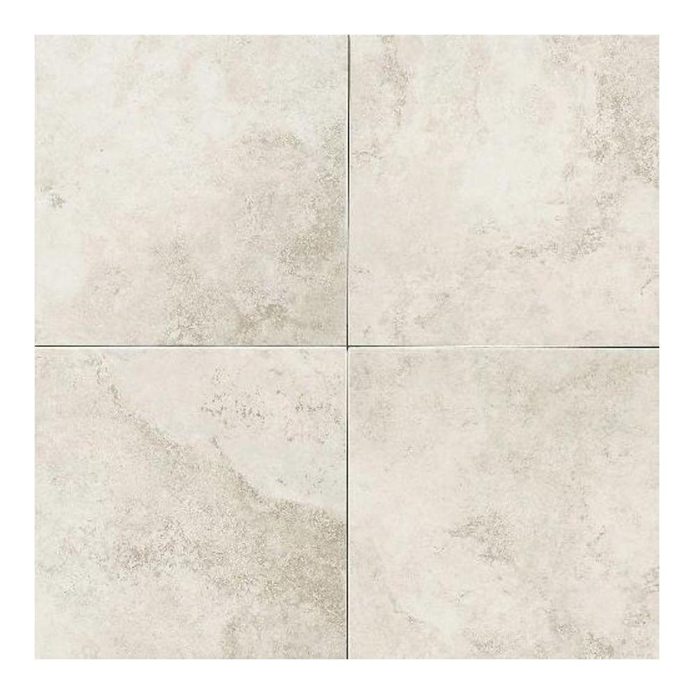 Ceramic floor tiles daltile salerno grigio perla 18 in. x 18 in. glazed ceramic floor and CSTHWPF