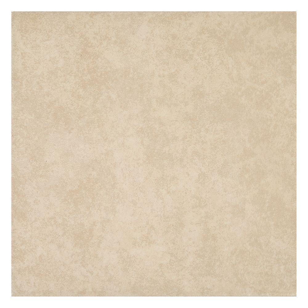 Ceramic floor tiles trafficmaster laguna bay cream 12 in. x 12 in. ceramic floor and wall ASUHKQW