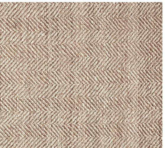 chevron wool jute rug swatch JHCIMOF