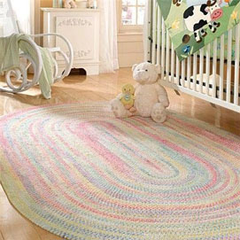 children rugs kids braided rugs VFCCRGS